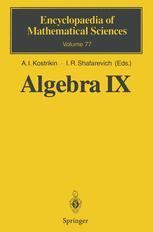 Algebra IX