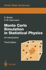Monte Carlo Simulation in Statistical Physics