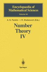 Number Theory IV