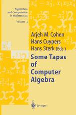 Some Tapas of Computer Algebra