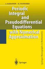 Periodic Integral and Pseudodifferential Equations with Numerical Approximation
