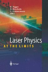 Laser Physics at the Limits