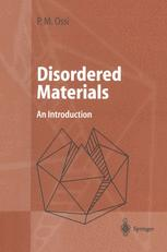 Disordered Materials