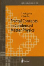 Fractal Concepts in Condensed Matter Physics