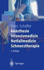 Anästhesie Intensivmedizin Notfallmedizin Schmerztherapie