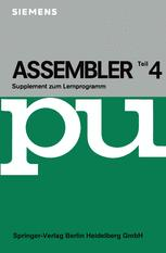 Assembler IV