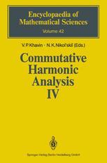 Commutative Harmonic Analysis IV