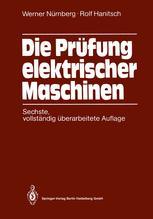 Die Prüfung elektrischer Maschinen