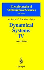 Dynamical Systems IV
