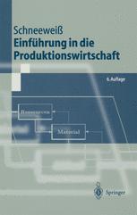 Einführung in die Produktionswirtschaft