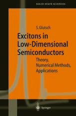 Excitons in Low-Dimensional Semiconductors