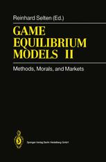 Game Equilibrium Models II