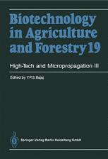 High-Tech and Micropropagation III