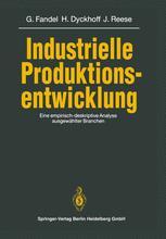 Industrielle Produktionsentwicklung