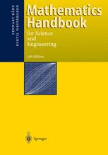 Mathematics Handbook for Science and Engineering