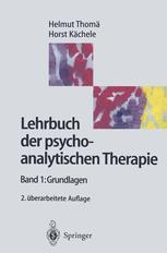 Lehrbuch der psychoanalytische Therapie