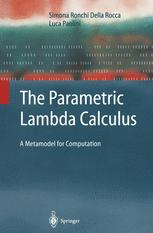The Parametric Lambda Calculus