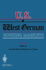 U.S. and West German Housing Markets