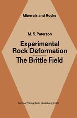 Experimental Rock Deformation — The Brittle Field