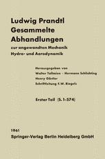 Ludwig Prandtl Gesammelte Abhandlungen