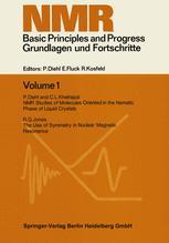 NMR Basic Principles and Progress / Grundlagen und Fortschritte