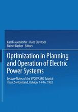Optimization in Planning and Operation of Electric Power Systems