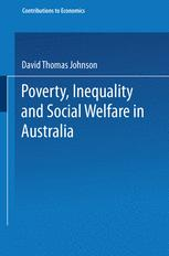 Poverty, Inequality and Social Welfare in Australia