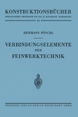 Verbindungselemente der Feinwerktechnik