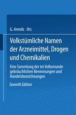 Volkstümliche Namen der Arzneimittel, Drogen und Chemikalien