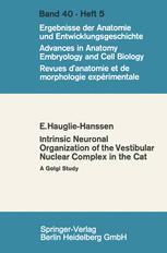 Intrinsic Neuronal Organization of the Vestibular Nuclear Complex in the cat