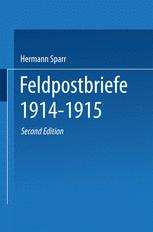 Feldpostbriefe 1914–1915