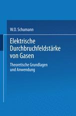 Elektrische Durchbruchfeldstärke von Gasen