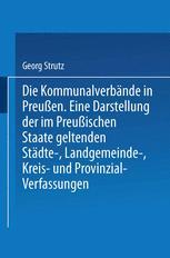 Die Kommunalverbände in Preußen