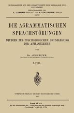 Die Agrammatischen Sprachstörungen