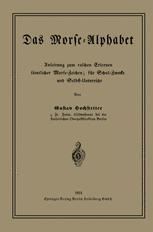 Das Morse-Alphabet