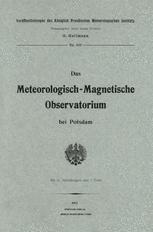 Das meteorologisch-magnetische Observatorium bei Potsdam