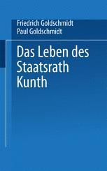 Das Leben des Staatsrath Kunth