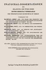 Zur Frage der Spezifität des Noltzeschen Sedimentierungsverfahrens zur Diagnose der ansteckenden Blutarmut