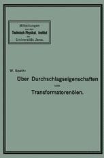 Über Durchschlagseigenschaften von Transformatorenölen