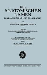 Die Anatomischen Namen