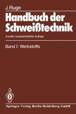 Handbuch der Schweißtechnik