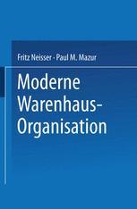 Moderne Warenhaus-Organisation