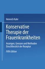 Konservative Therapie der Frauenkrankheiten