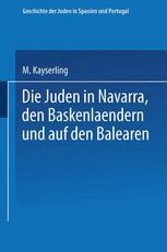 Die Juden in Navarra, den Baskenlændern und auf den Balearen