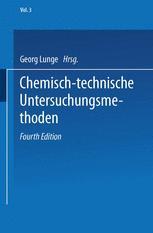 Chemisch-technische Untersuchungsmethoden