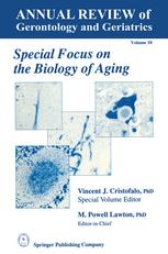 Special Focus on the Biology of Aging