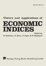 Theory and Applications of Economic Indices