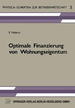 Optimale Finanzierung von Wohnungseigentum