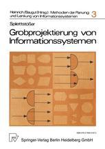 Grobprojektierung von Informationssystemen
