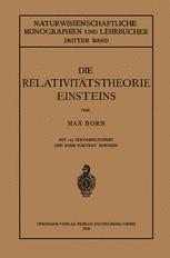 Die Relativitätstheorie Einsteins und Ihre Physikalischen Grundlagen